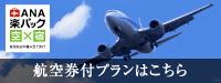 ANA 航空券付ダイナミックパッケージ