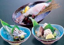 自慢の豊富な海鮮メニュー