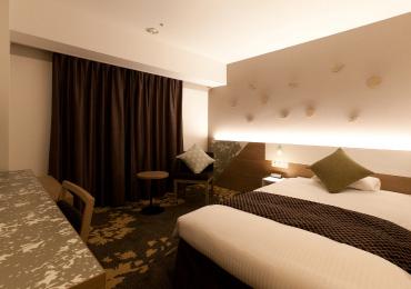 全室Wi-Fi完備。ビジネスに、旅行の憩いに、ワンランク上の居心地をご提供。